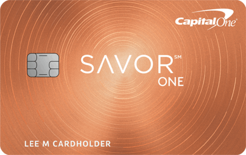 Capital One? SavorOne? Cash Rewards Credit Card