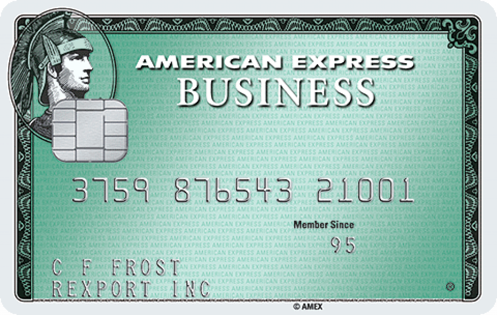 American Express? Business Green Rewards