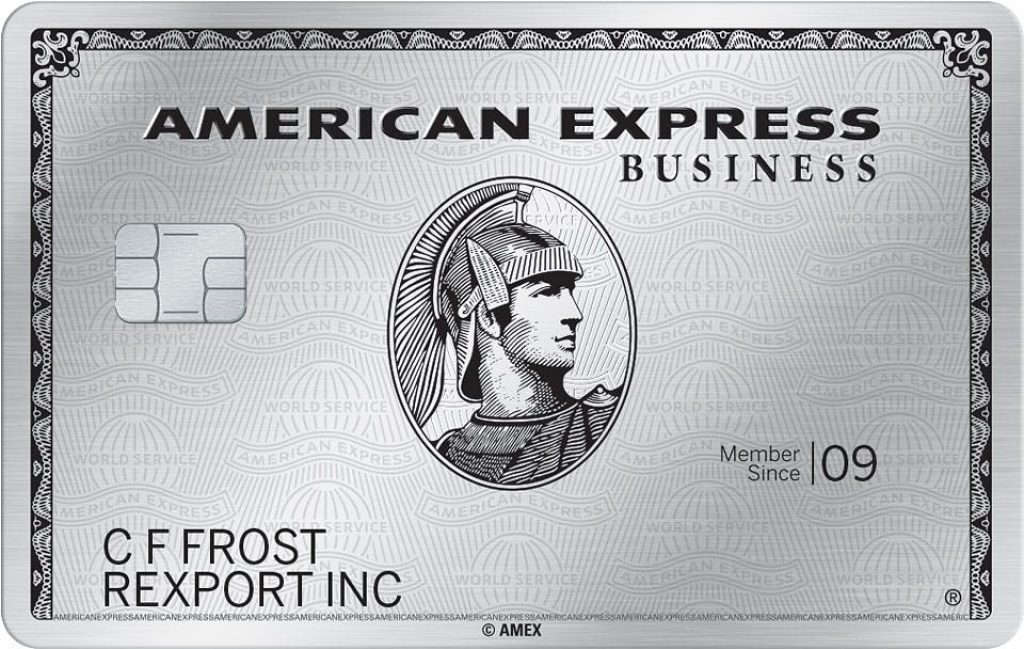 The Platinum? Card from American Express Credit Card