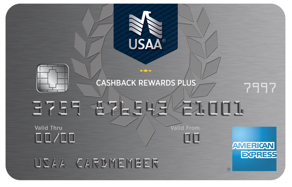 USAA® Cashback Rewards Plus American Express® Credit Card