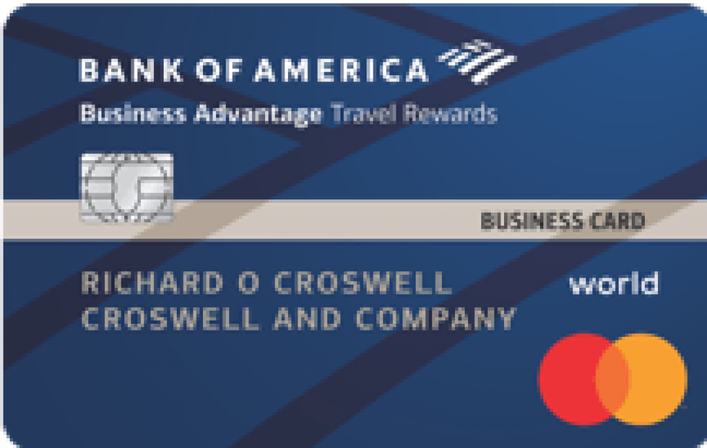 Bank of America? Business Advantage Travel Rewards World Mastercard? Credit Card