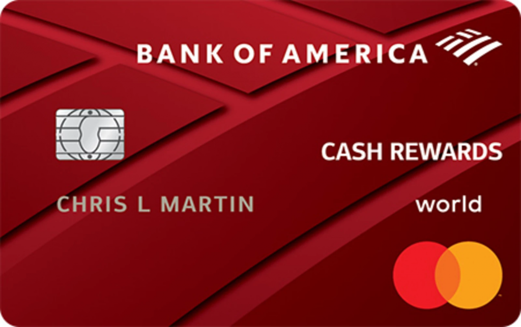 Bank of America? Cash Rewards Credit Card