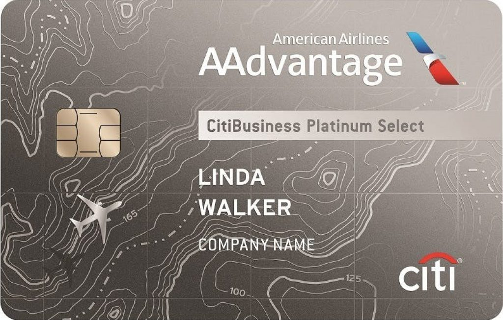 CitiBusiness? / AAdvantage? Platinum Select? World Mastercard? Credit Card