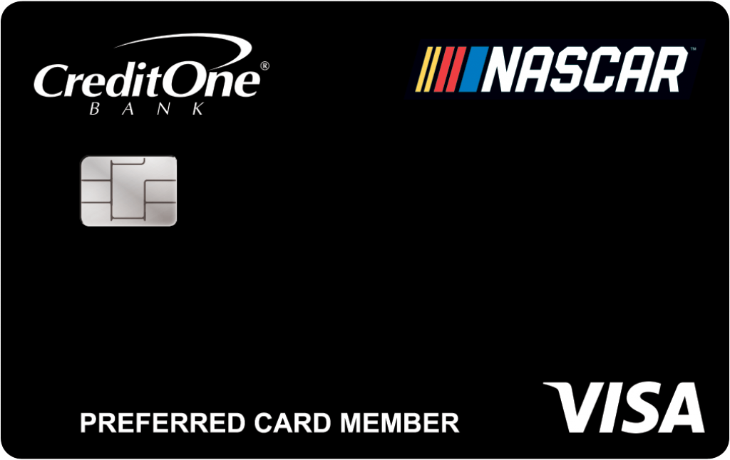 Credit One Bank? NASCAR? Visa?