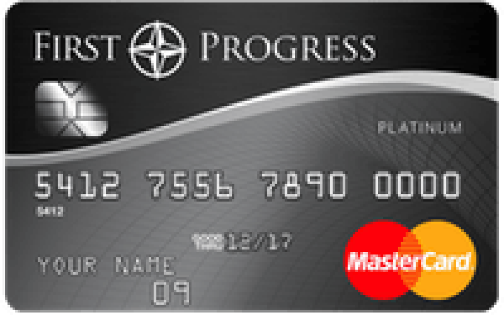 First Progress Platinum Select Mastercard® Credit Card