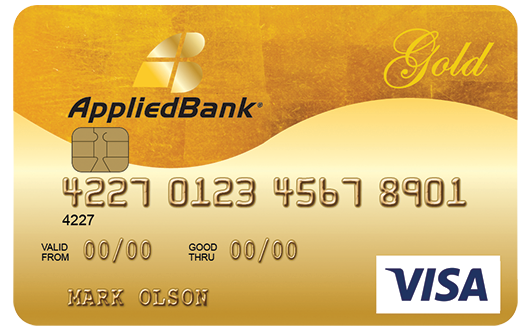 Applied Bank® Secured Visa® Gold Preferred Credit Card
