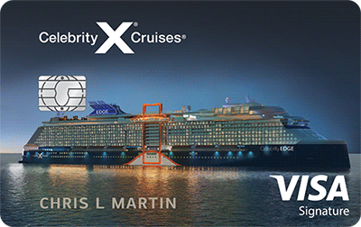 Celebrity Cruises® Visa Signature®