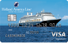 Holland American Line Rewards Visa Card