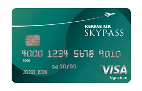 Korean Air SKYPASS Visa Signature