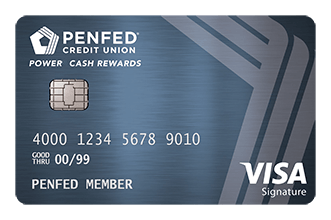 PenFed Power Cash Rewards Visa Signature®