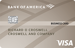 Platinum Visa® Business Credit Card