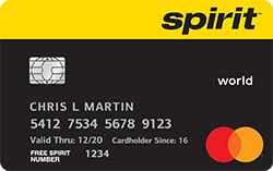 Spirit Airlines World MasterCard®