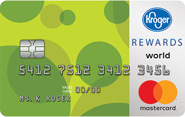 The Kroger 1-2-3 REWARDS® World Mastercard®
