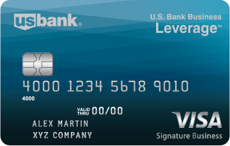 U.S. Bank Business Leverage® Visa Signature®