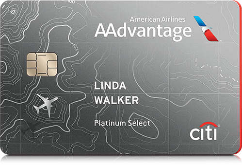 Citi / AAdvantage® Platinum Select® World Mastercard®