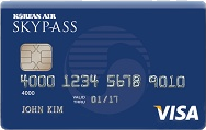 Korean Air SKYPASS Visa Classic Card