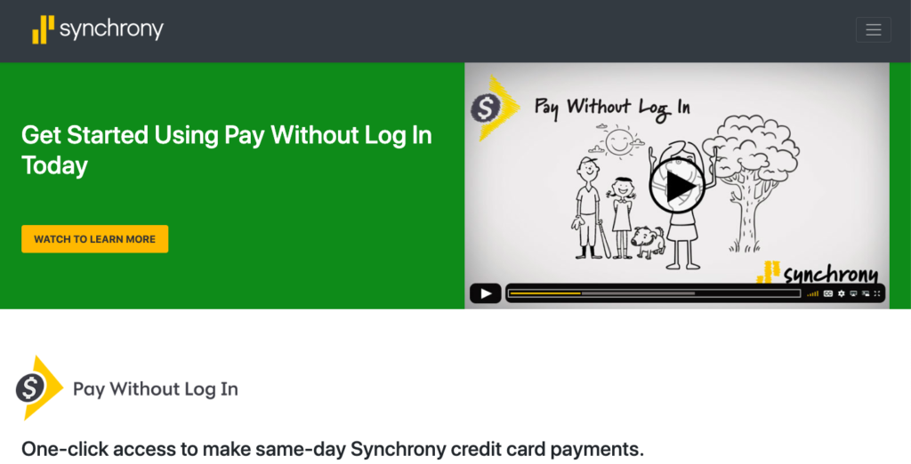Pay Without Login Page