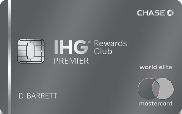 The IHG® Rewards Club Premier Card