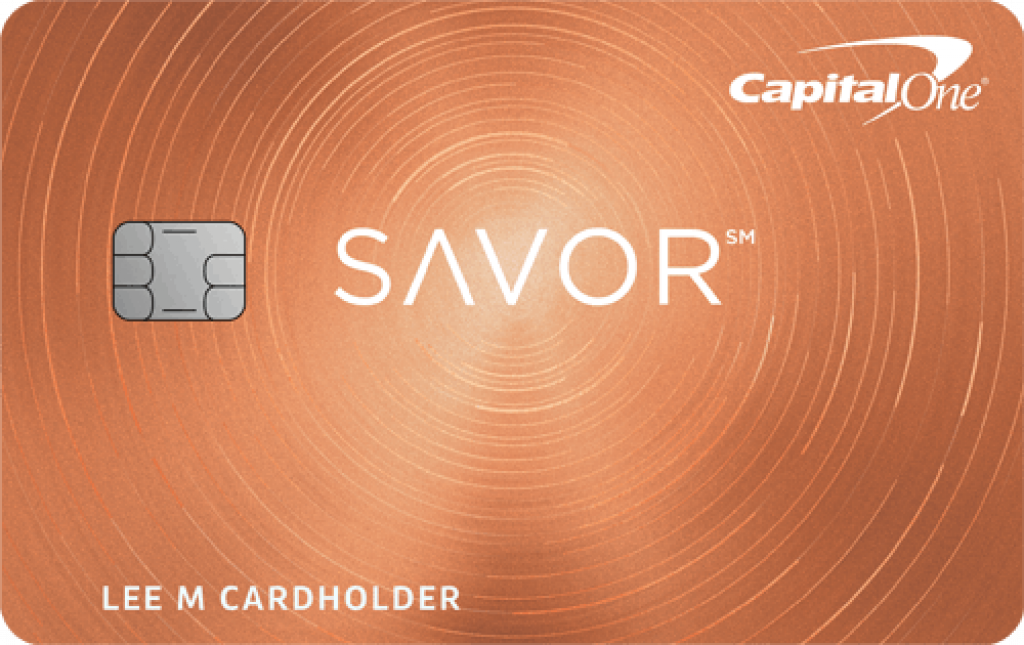 Capital One Savor Cash Rewards Credit Cards