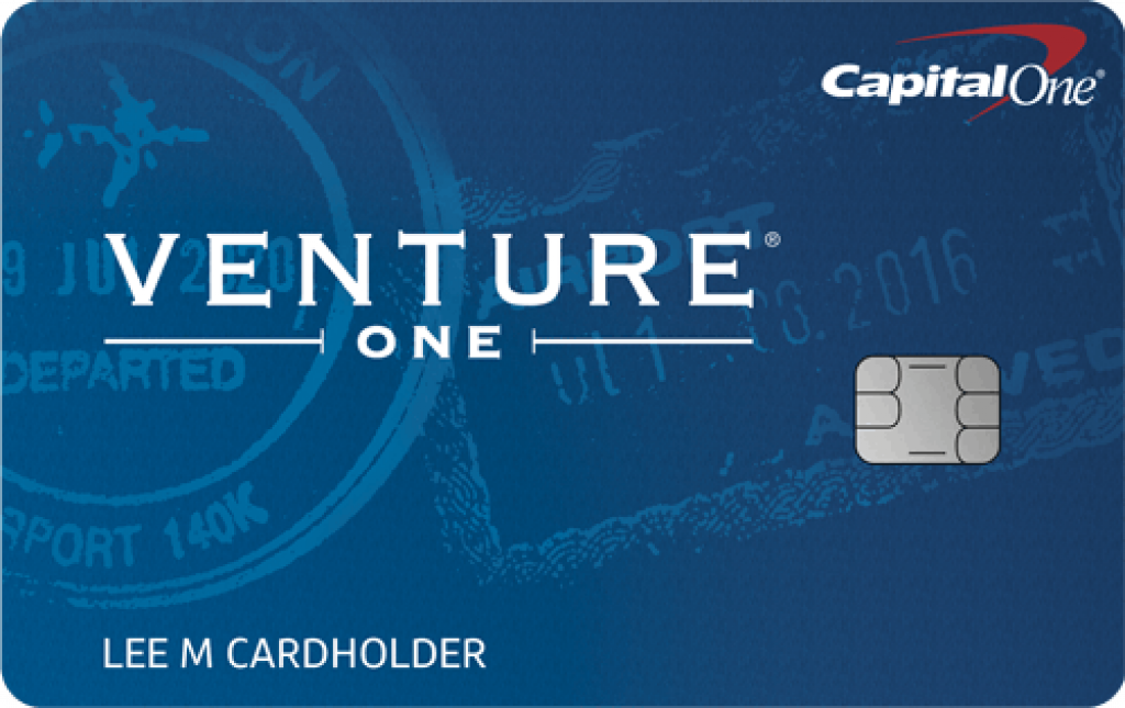 Capital One VentureOne Card Image