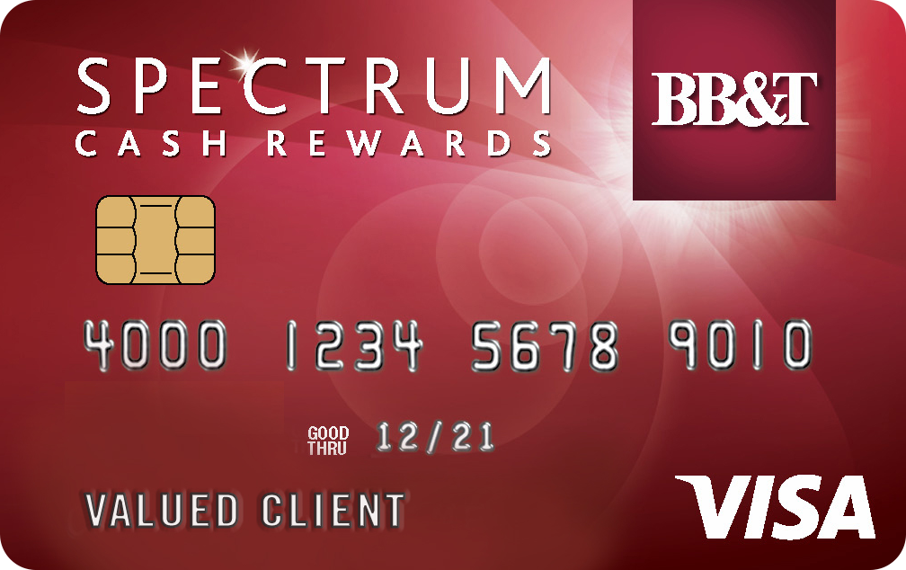 BB&T Spectrum Cash Rewards® Card