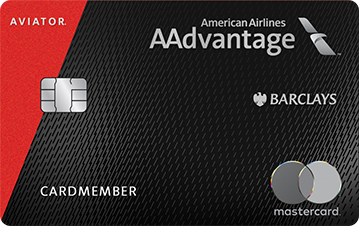 Barclays AAdvantage® Aviator® Red World Elite Mastercard®