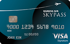 Korean Air SKYPASS Select Visa Signature
