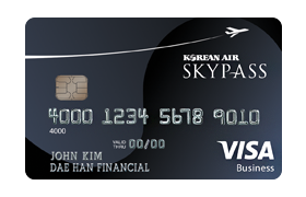 Korean Air SKYPASS Visa® Business Card