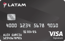 LATAM Visa Signature Credit Card