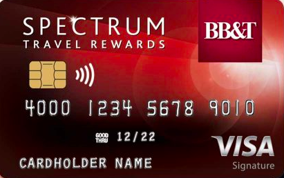 BB&T Spectrum Travel Rewards