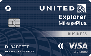 United MileagePlus® Explorer Business Card