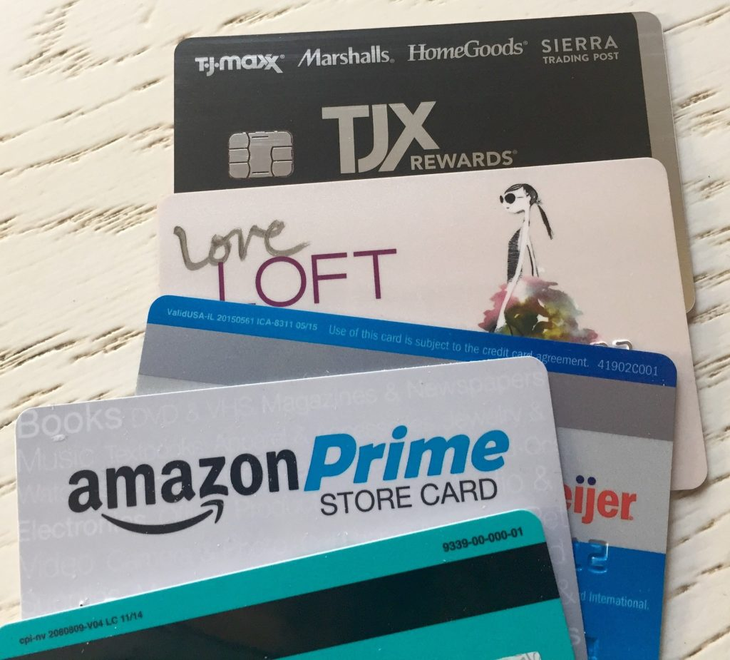 credit card store cards